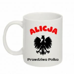 Kubek 330ml Alicja jest prawdziwą Polką