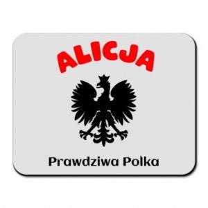 Podkładka pod mysz Alicja jest prawdziwą Polką