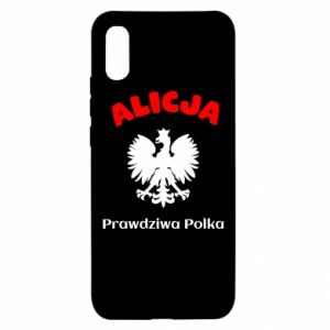 Phone case for Samsung A6+ 2018 Alice is a real Pole, names, patriotic - PrintSalon