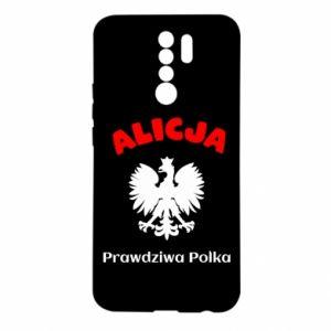 Women's sports t-shirt Alice is a real Pole, names, patriotic - PrintSalon