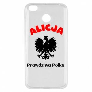 Phone case for Samsung A20 Alice is a real Pole, names, patriotic - PrintSalon