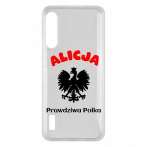 Phone case for Samsung A40 Alice is a real Pole, names, patriotic - PrintSalon