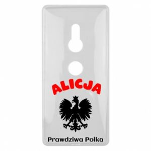 Phone case for Samsung A60 Alice is a real Pole, names, patriotic - PrintSalon