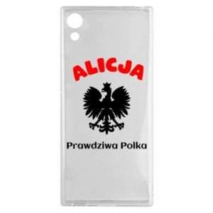 Phone case for Samsung A70 Alice is a real Pole, names, patriotic - PrintSalon