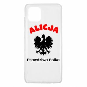 Phone case for Samsung S8 Alice is a real Pole, names, patriotic - PrintSalon