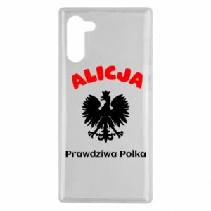 Phone case for Samsung S9 Alice is a real Pole, names, patriotic - PrintSalon