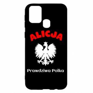 Phone case for Samsung S10e Alice is a real Pole, names, patriotic - PrintSalon