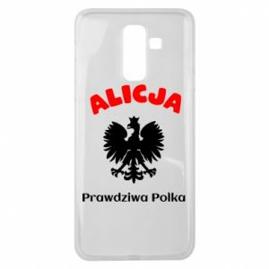 Phone case for Samsung S10 Alice is a real Pole, names, patriotic - PrintSalon