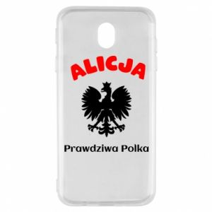 Phone case for Samsung S10+ Alice is a real Pole, names, patriotic - PrintSalon