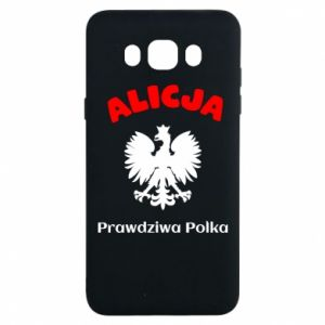 Phone case for Huawei Y5 2018 Alice is a real Pole, names, patriotic - PrintSalon
