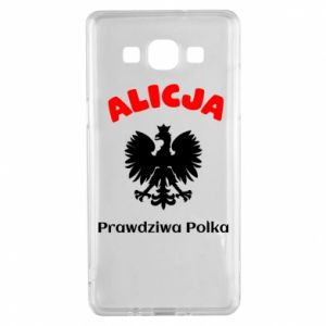 Phone case for Huawei Y6 2018 Alice is a real Pole, names, patriotic - PrintSalon