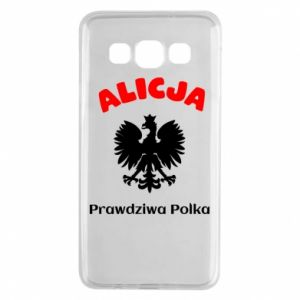 Phone case for Huawei Mate 10 Lite Alice is a real Pole, names, patriotic - PrintSalon