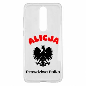 Phone case for Huawei P Smart Alice is a real Pole, names, patriotic - PrintSalon
