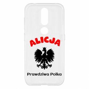 Phone case for Huawei P Smart Plus Alice is a real Pole, names, patriotic - PrintSalon