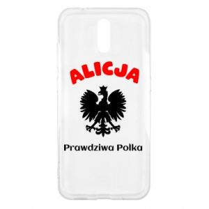 Phone case for Huawei P10 Lite Alice is a real Pole, names, patriotic - PrintSalon