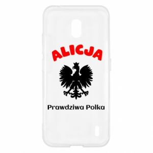 Phone case for Huawei P20 Alice is a real Pole, names, patriotic - PrintSalon