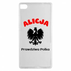 Phone case for Huawei P20 Lite Alice is a real Pole, names, patriotic - PrintSalon