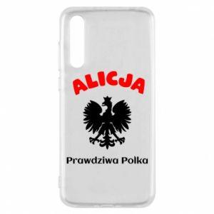 Phone case for Xiaomi Mi A2 Alice is a real Pole, names, patriotic - PrintSalon