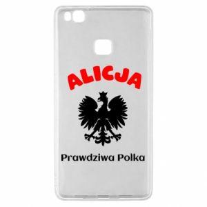 Phone case for Mi A2 Lite Alice is a real Pole, names, patriotic - PrintSalon