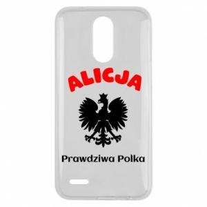 Phone case for Xiaomi Mi6 Alice is a real Pole, names, patriotic - PrintSalon