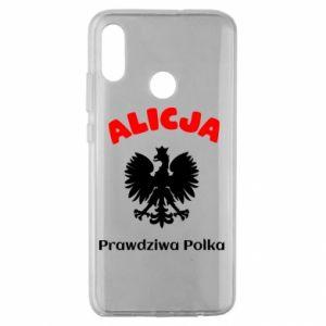 Phone case for Xiaomi Mi8 Lite Alice is a real Pole, names, patriotic - PrintSalon