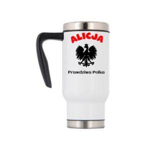 Kubek termiczny Alicja jest prawdziwą Polką