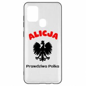 Phone case for Xiaomi Redmi 7 Alice is a real Pole, names, patriotic - PrintSalon