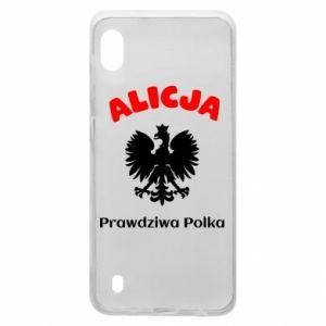 Phone case for Xiaomi Redmi 7A Alice is a real Pole, names, patriotic - PrintSalon