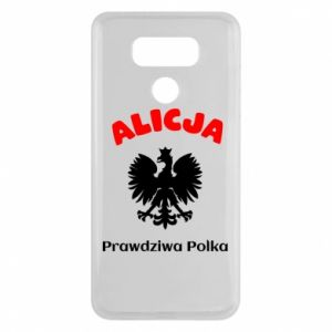 Phone case for Samsung A6 2018 Alice is a real Pole, names, patriotic - PrintSalon
