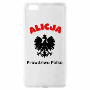 Phone case for Samsung A9 2018 Alice is a real Pole, names, patriotic - PrintSalon