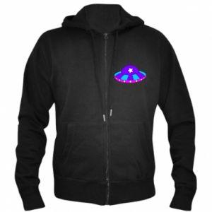 Męska bluza z kapturem na zamek Aliens - PrintSalon