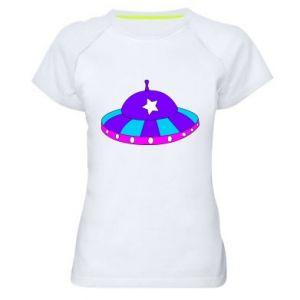 Damska koszulka sportowa Aliens - PrintSalon