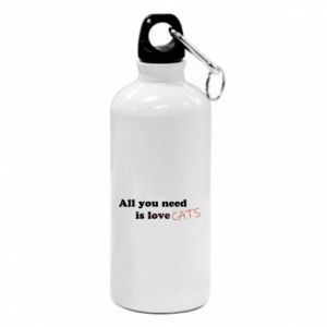 Water bottle All you need is cats