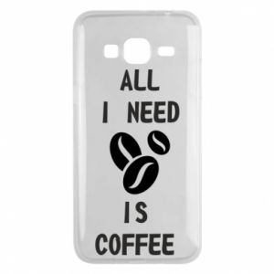 Etui na Samsung J3 2016 All I need is coffee