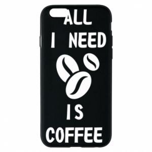Etui na iPhone 6/6S All I need is coffee