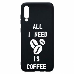 Etui na Samsung A70 All I need is coffee