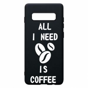 Etui na Samsung S10+ All I need is coffee