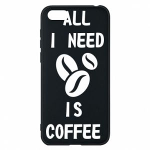Etui na Huawei Y5 2018 All I need is coffee