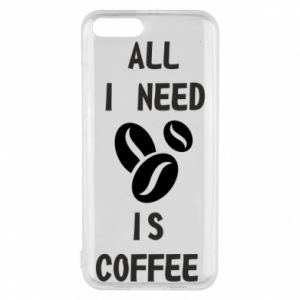Etui na Xiaomi Mi6 All I need is coffee