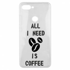 Etui na Xiaomi Mi8 Lite All I need is coffee