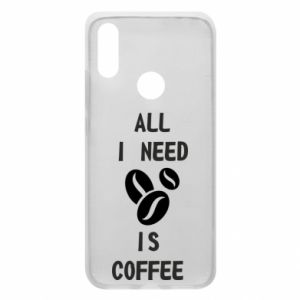 Etui na Xiaomi Redmi 7 All I need is coffee