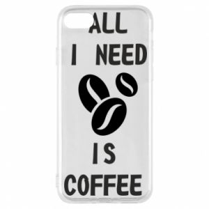 Etui na iPhone 8 All I need is coffee