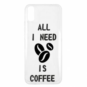 Etui na Xiaomi Redmi 9a All I need is coffee