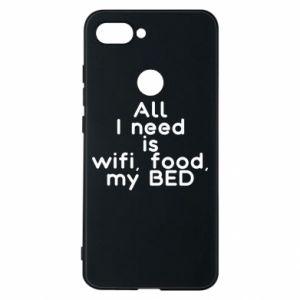 Etui na Xiaomi Mi8 Lite All I need is wifi, food, my bed