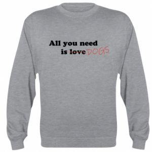Bluza (raglan) All you need is dogs