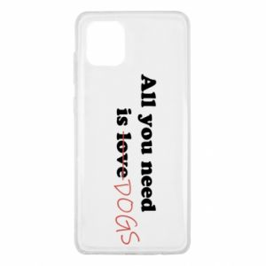 Samsung Note 10 Lite Case All you need is dogs