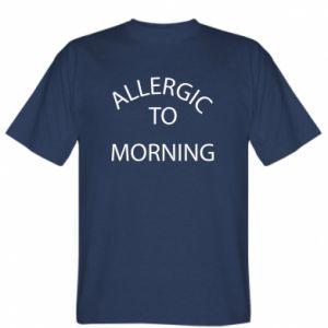 Koszulka Allergic to morning