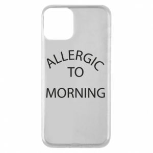 Etui na iPhone 11 Allergic to morning