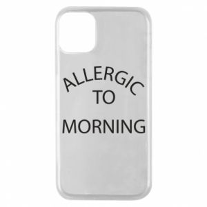 Etui na iPhone 11 Pro Allergic to morning
