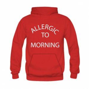 Kid's hoodie Allergic to morning
